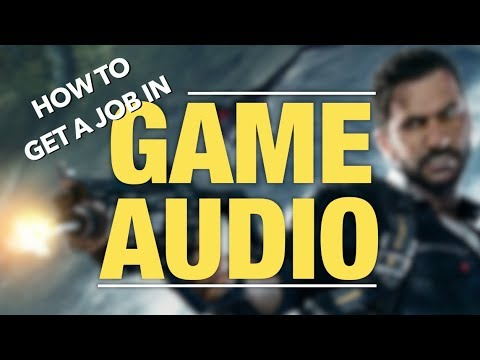 How I Got Into The AAA Game Industry (As A Sound Designer)