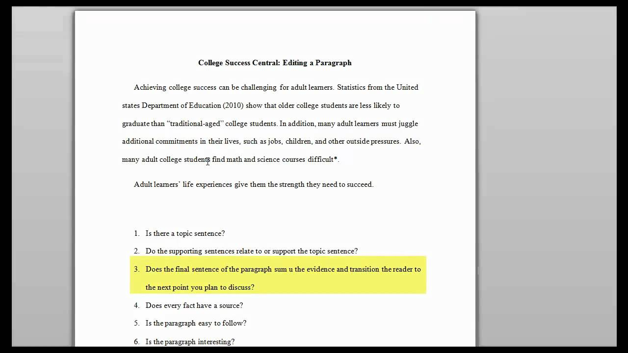 how to edit a college research paper how to edit a college research paper