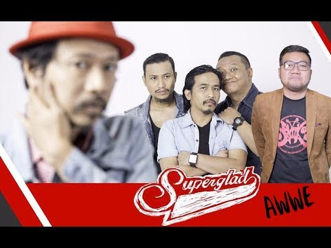 SUPERGLAD Feat AWWE - BANGKIT (Unofficial Lyric Video) Cheers From Rocket Rockers