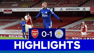 Vardy Seals Iconic Foxes Win At Arsenal | Arsenal 0 Leicester City 1 | 2020/21