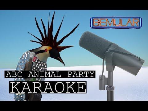 Bemular - ABC Animal Party (karaoke version)