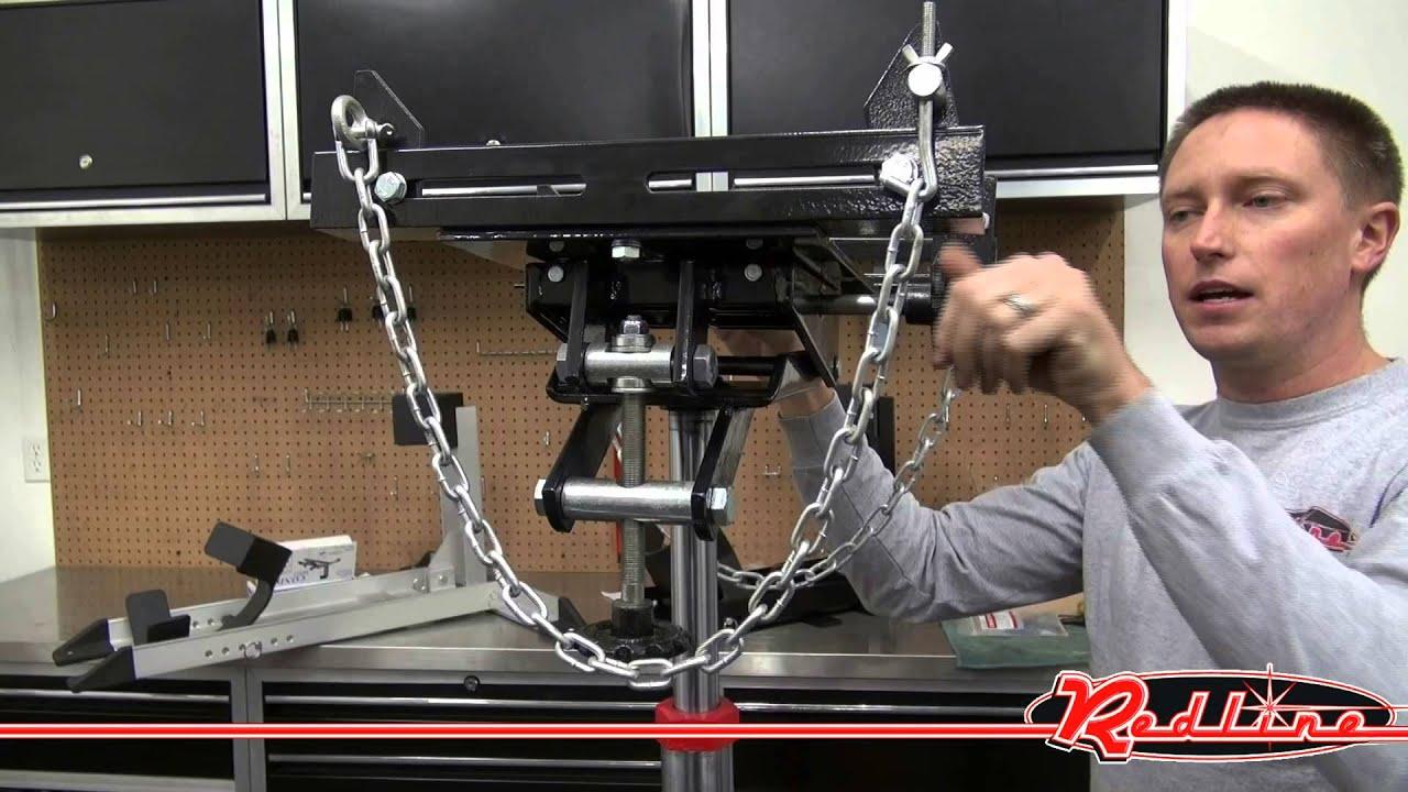 Redline Tj500 Double Stage Transmission Jack Youtube