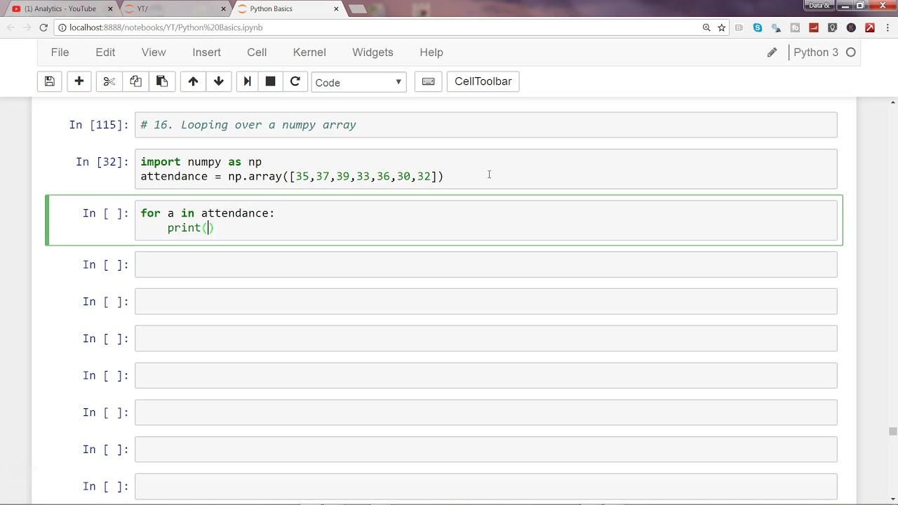 Python numpy tutorial   numpy array   python tutorial for.