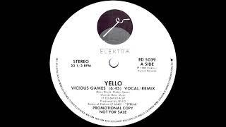 Yello - Vicious Games (Remix) 1985