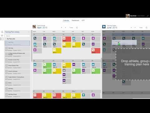 How To Use the Dual Calendar in TrainingPeaks Coach Edition