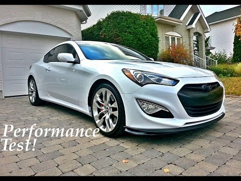 2013 Hyundai Genesis Coupe 3 8 Track 0 60 Youtube