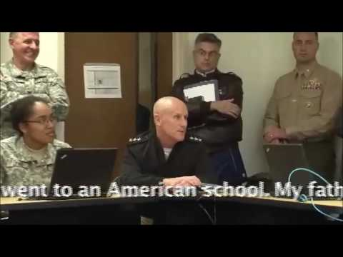 Adm. Harward Speaks Farsi!