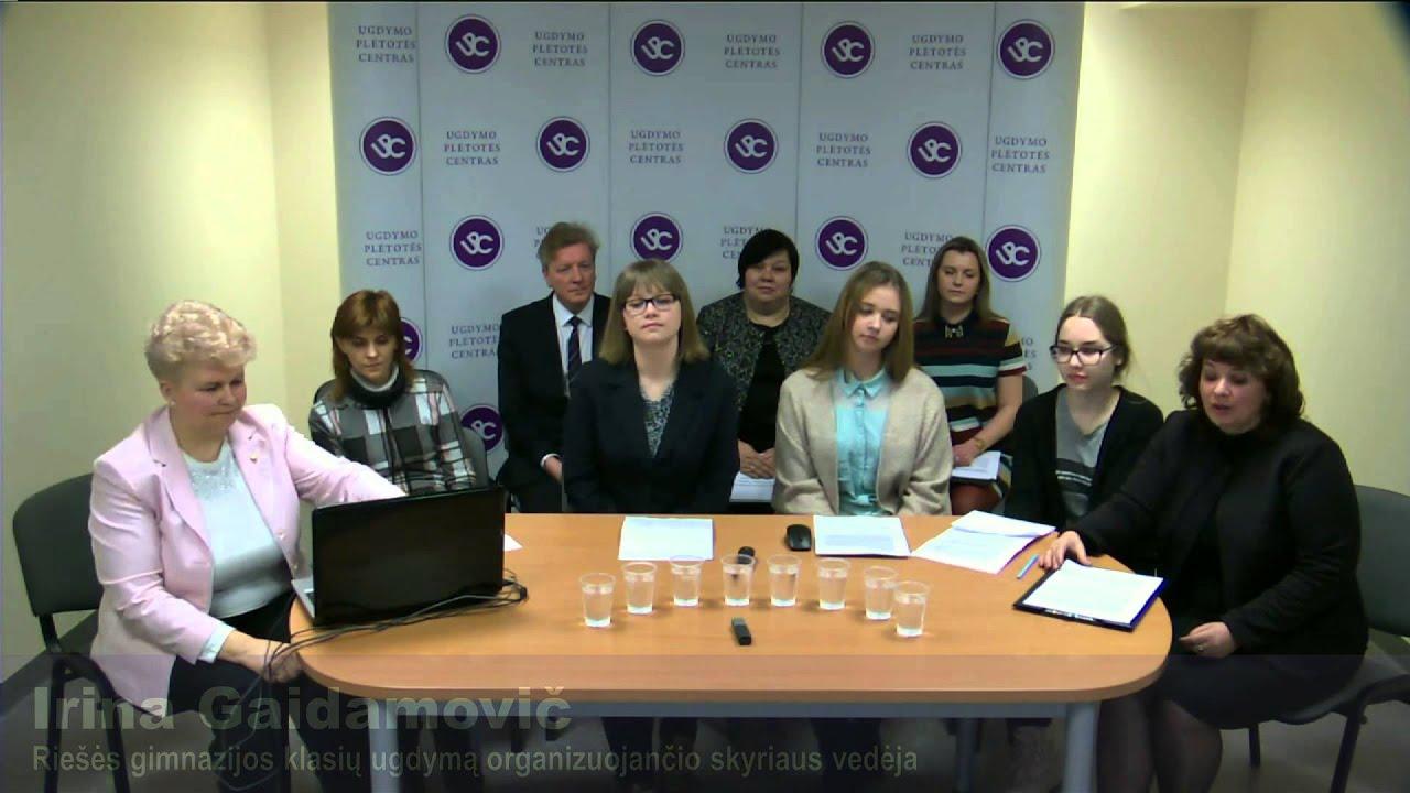 Gimnazijų geroji patirtis įgyvendinant integruoto ugdymo programas