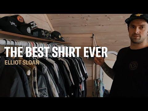 "X Games Champion Skateboarder Elliot Sloan Shows Off ""The Best Shirt Ever"""