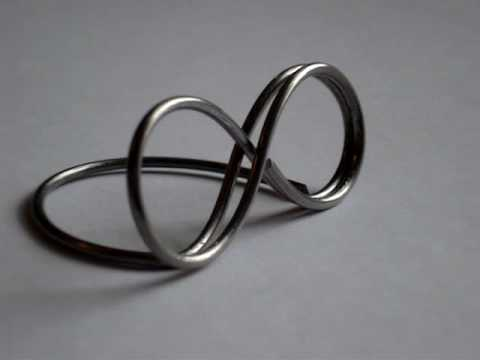 Infinity Wire Place Card Holders - YouTube