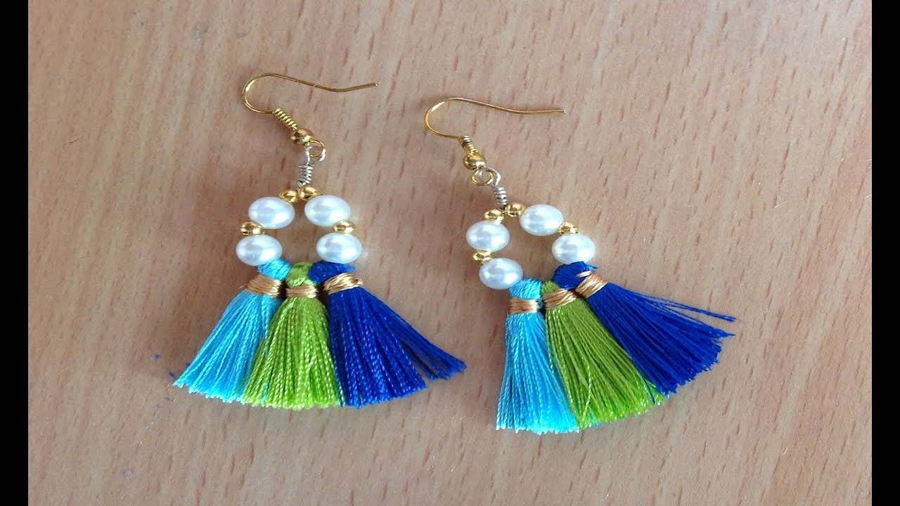 Diy Tassel Earrings Ii Beaded Tassel Earrings