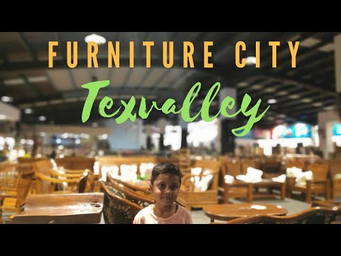 Furniture City | Largest In Tamilnadu | TEXVALLEY | Chithode