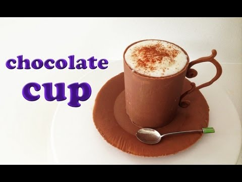 Chocolate Mousse in Chocolate Cup Recipe HOW TO COOK THAT Ann Reardon Chocolate Bowl