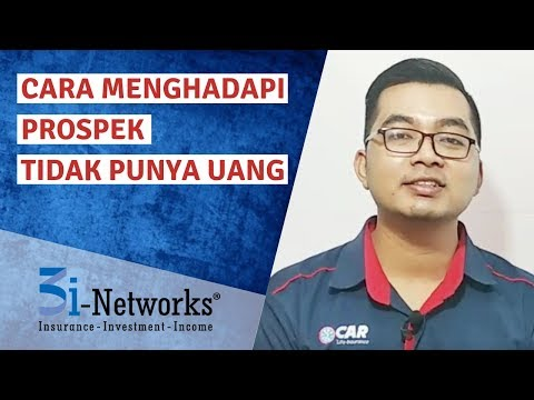 Cara Menghadapi Prospek Tidak Punya Uang | Tips 3i-Networks