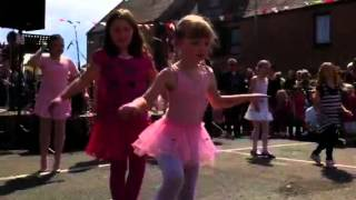 Bervie play parks diamond jubilee street party