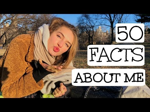 50 Facts About Me | Boyfriends, Family, Happiness & Travel | Sanne Vloet
