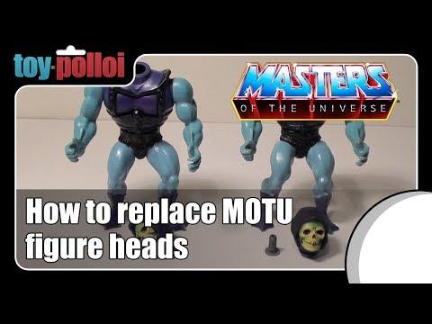 Fix it guide - Re-attach vintage MOTU heads