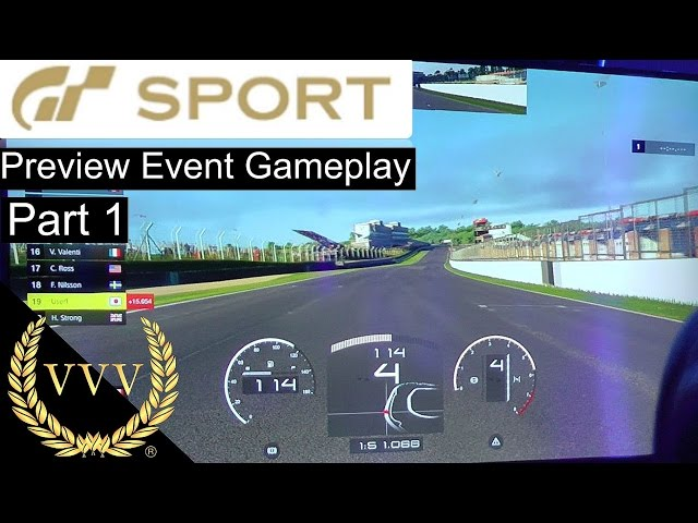 GT Sport Gameplay Part 1  Brands Hatch