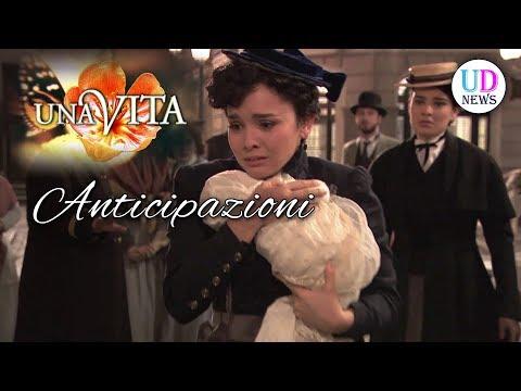Anticipazioni Una Vita, puntate spagnole: Blanca e Diego riabbracciano il loro bambino!