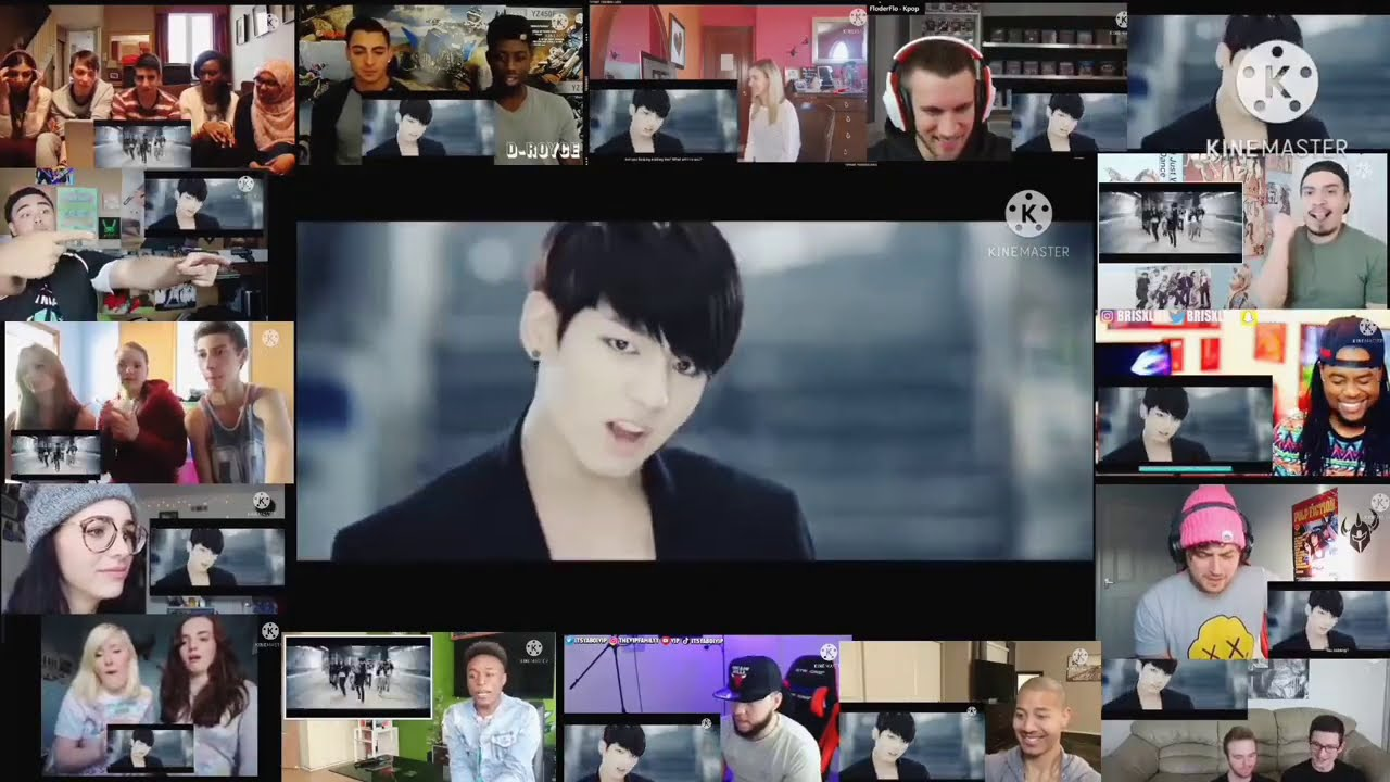 Download BTS (방탄 소년단) 'Danger' Official MV   Reaction Mashup