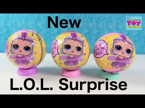 LOL Surprise Doll Confetti Pop Series 3 Wave 2 Toy Review | PSToyReviews