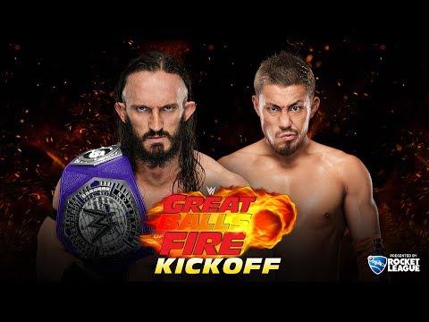 WWE Great Balls of Fire Kickoff: July 9, 2017