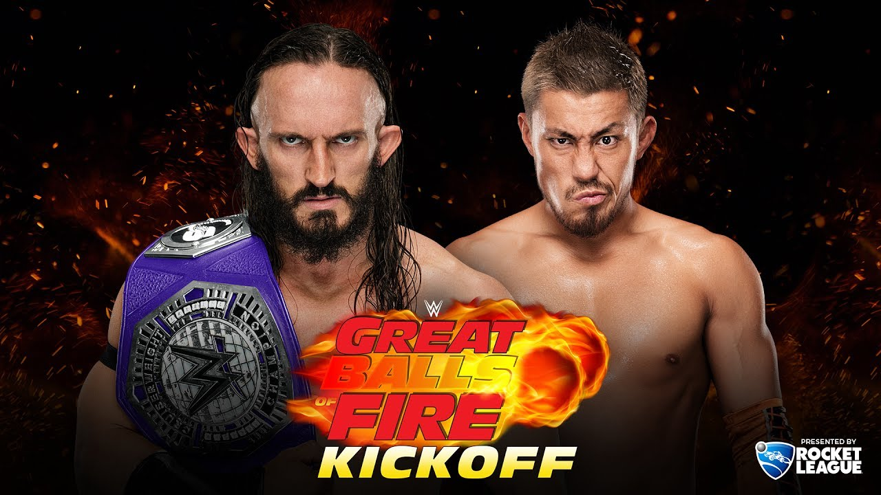 WWE Great Balls of Fire 2017 live stream: Start time, TV schedule, matches ...