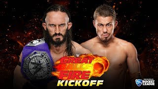 Neville defends his WWE Cruiserweight Championship against the newe...