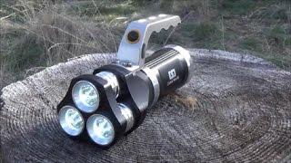 Gambar cover Cree T6 2400 Lumens Light Review.
