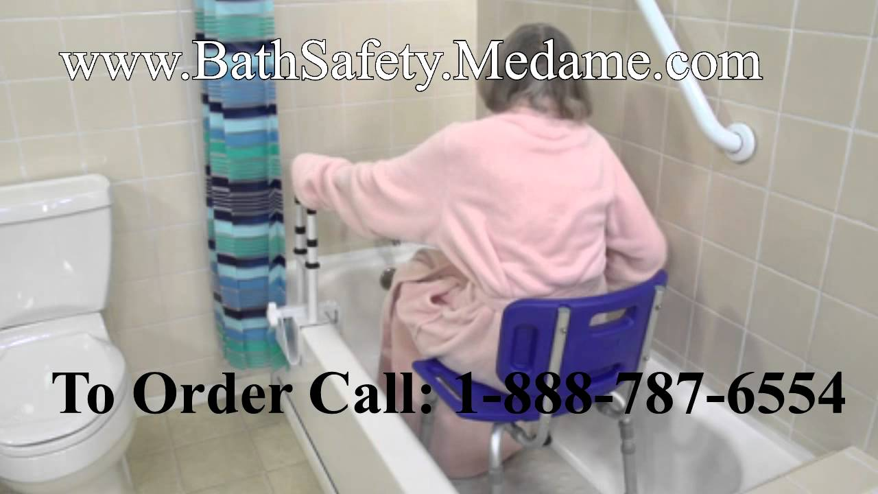 shower stool and bath bench for elderly handicapped bath youtube