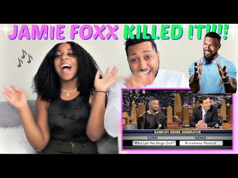 Musical Genre Challenge with Jamie Foxx REACTION!!!!