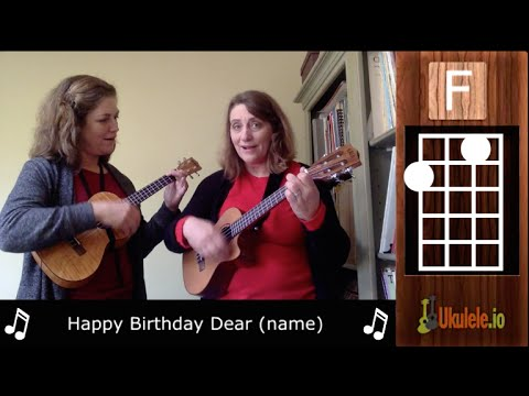 Learn Beginner Ukulele With Happy Birthday To You 21 Ukulele Songs