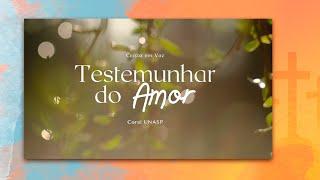 Testemunhar do Amor - Cristo Em Voz