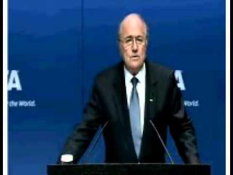 Sepp Blatter PRESS CONFERENCE 5/30/11pt. 1