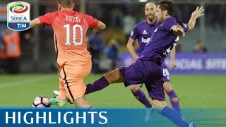 Fiorentina - Roma - 1-0 - Highlights - Giornata 4 - Serie A TIM 2016/17 streaming