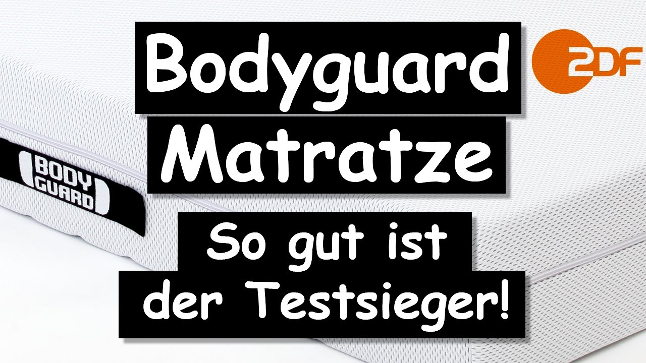 bodyguard matratze so gut ist der testsieger wirklich der zdf stiftung warentest test youtube. Black Bedroom Furniture Sets. Home Design Ideas