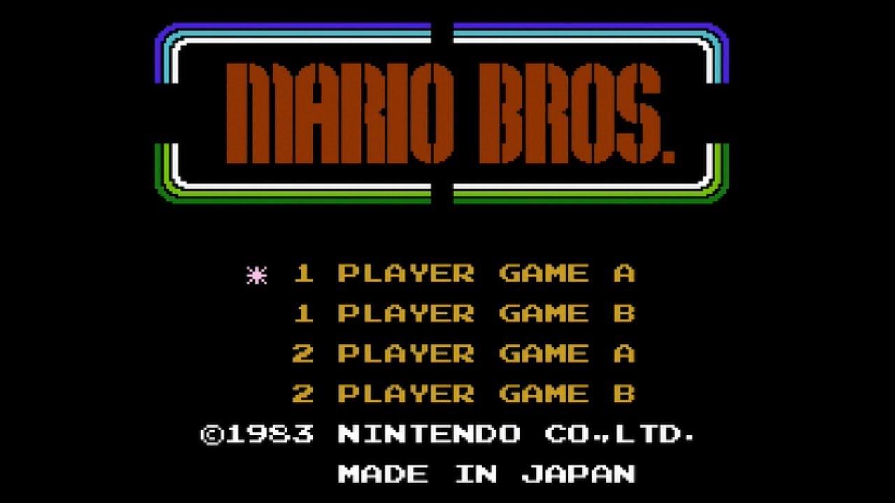 Mario Bros NES Live Stream