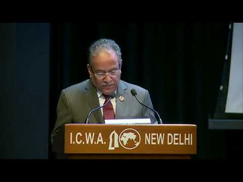 Prachanda Speech in ICWA New Delhi