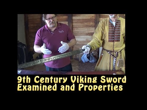 Viking Age Sword Examined by Thrand & Dimicator Properties by Craig Johnson