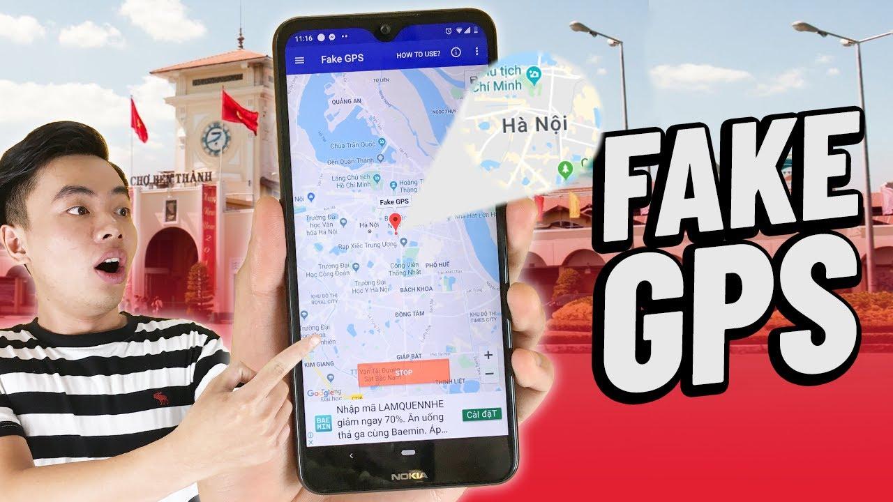 Cách FAKE GPS để tránh vợ phát hiện khi đi nhậu !!!