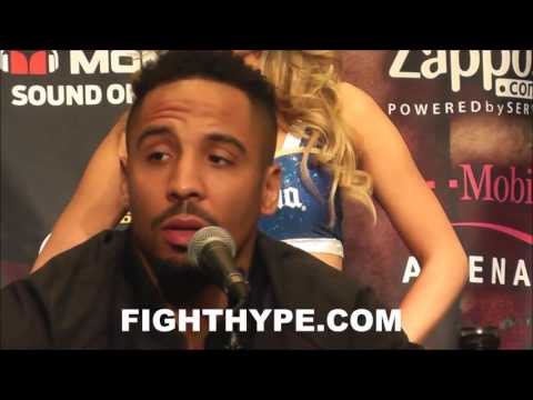 ANDRE WARD WARNS MCGREGOR THAT FIGHTING MAYWEATHER IS A BAD IDEA; WOULDN'T MIND SEEING IT