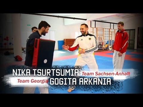 Nika Tsurtsumia & Gogita Arkania