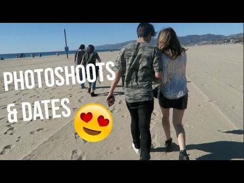 photoshoots in Santa Monica & luxury movie theater! | Summer Mckeen