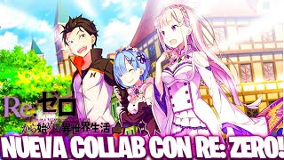 🆕¡NUEVA COLLAB con RE: ZERO!🆕 *TODA LA INFO* Seven Deadly Sins: Grand Cross