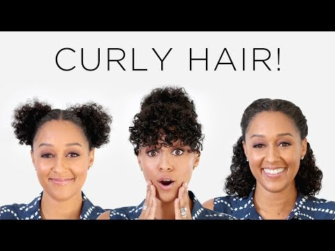 Tia Mowry's 3 Instagram Hairstyles for Curly Hair | Quick Fix