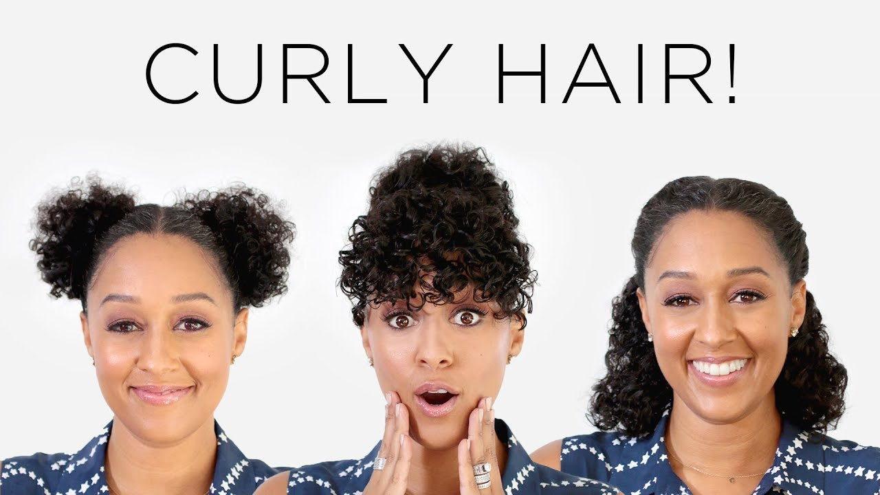 Hair Style 0 5: Tia Mowry's 3 Instagram Hairstyles For Curly Hair