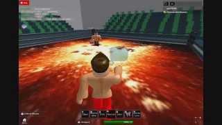 Estrema Roblox Wrestling:Mini Show