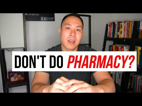 Why pharmacy is NOT a good career
