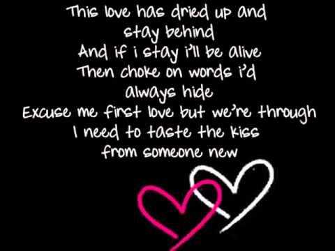 Adele   First Love with on screen lyrics