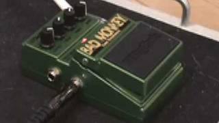 Digitech Bad Monkey tube overdrive guitar effects pedal demo with SG & Jaguar Junior amp